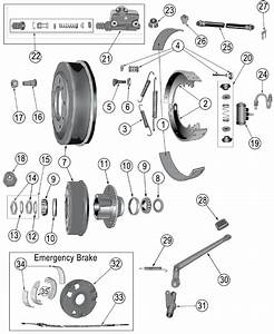 Diagrams For Jeep    Brake Parts    Jeep Vintage  1941-1978     Brake Parts