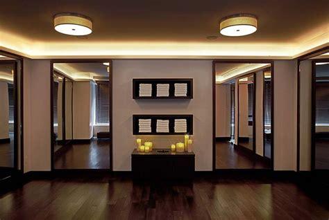 yoga room     espresso dark wood