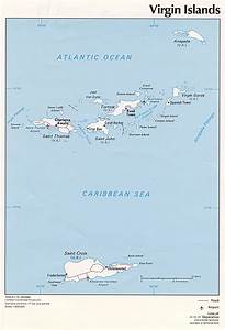 The following maps were produced by the U.S. Central Intelligence ... U.S. Virgin Islands