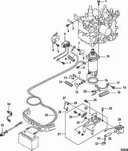 Mercury Marine 15 Carburetor  2 Cylinder   4