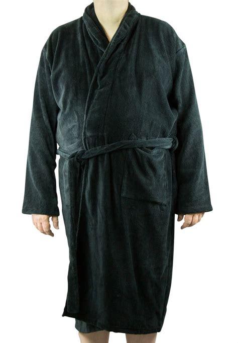 robe de chambre pour homme grande taille peignoir noir homme 100 coton grande taille all size
