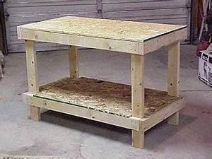 Popular Wood workbench plans 2x4 art wood craft