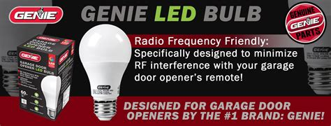 led lights interfere with garage door opener genie led garage door opener light bulb 60 watt 800