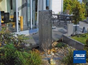 Edelstahlbrunnen Springbrunnen Edelstele 150 Cm Slink