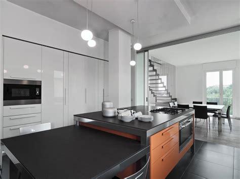 amenagement cuisine ilot central cuisine ouverte avec îlot central 58 sublimes modèles d 39 aménagement