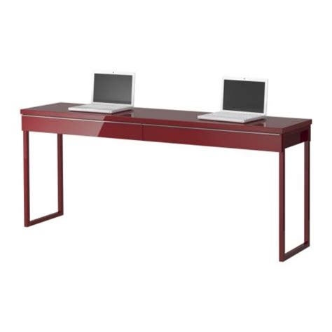 great desks for small spaces the love of beauty ikea long narrow high gloss desk