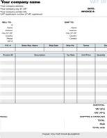 invoice template   formtemplate
