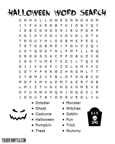 best 25 halloween word search ideas on pinterest