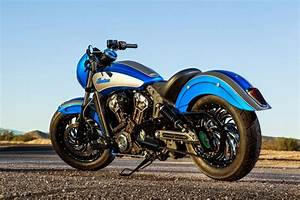 Racing Caf U00e8  Indian  U0026quot Scout 42 U0026quot  By Dirty Bird Concepts