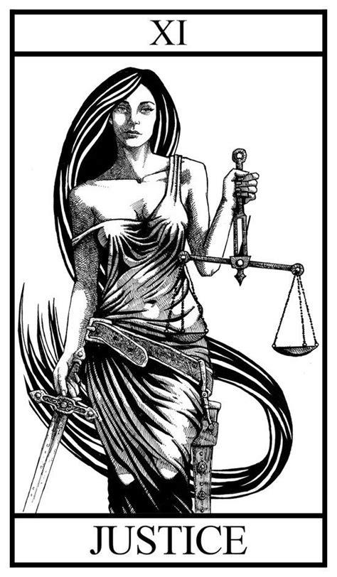 Black and White Tarot Deck Major Arcana | illustration in 2019 | Tarot card tattoo, Tarot tattoo