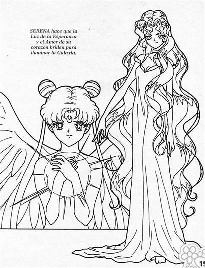 Coloring Sailor Moon Pages Ausmalbilder Notitle