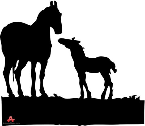 clipart mare foal clipart mare foal pencil and in color foal clipart