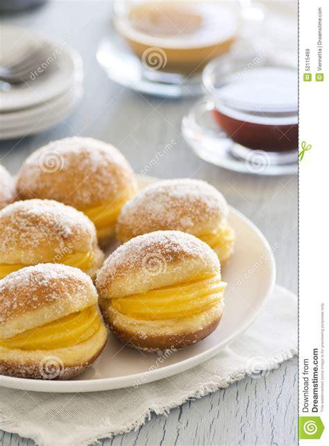 bolos de berlim une p 226 tisserie portugaise photo stock image 52115469
