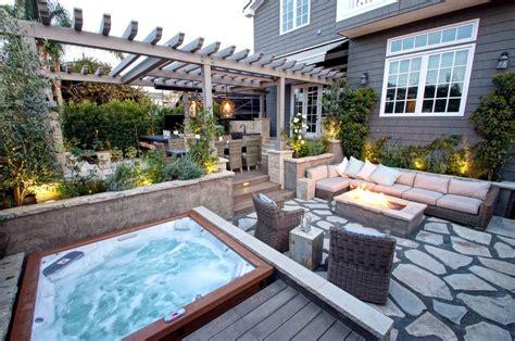 kansas city backyard tub pool craftsman with