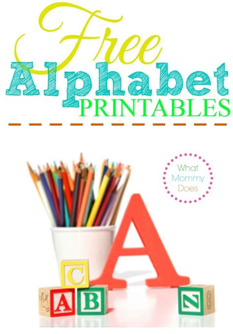 free alphabet printables letters worksheets stencils 581   35bcbabbba3d81a7047cc37c21ffcc5e