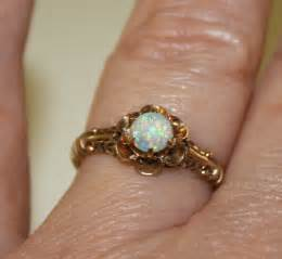 antique opal engagement rings vintage opal and gold ring antique opal ring vintage