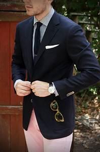 chemise a rayures blanche et bleu cravate tricot blazer With chemise a carreaux homme swag