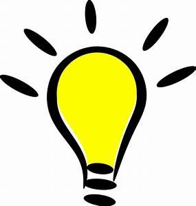 Clipart - Light Bulb Lit