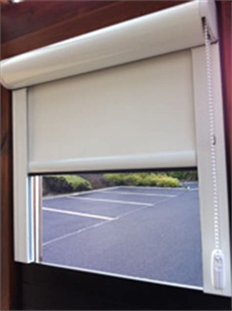 laser safety roller blinds