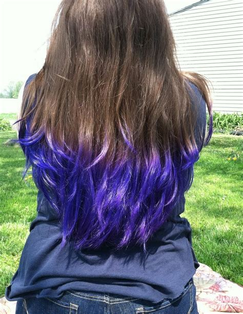17 Best Ideas About Purple Dip Dye On Pinterest Purple