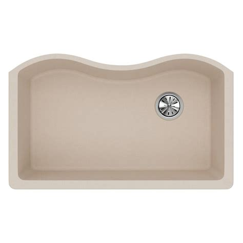 kitchen sink putty elkay quartz classic undermount composite 33 in single