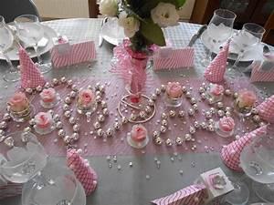 Deco Table Rose Et Gris : 25 d cembre 2014 ma d coration de table de no l encore ~ Melissatoandfro.com Idées de Décoration