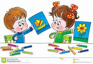 Drawing clipart children's - Pencil and in color drawing ...