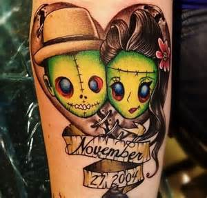 Cute Zombie Tattoos