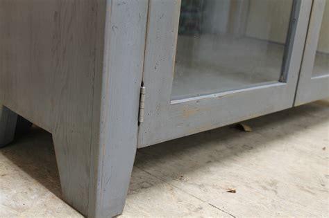 Glass Door Media Cabinet Ecustomfinishes