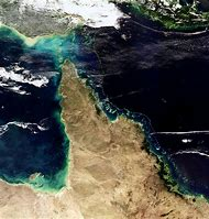 Australia Great Barrier Reef From Space