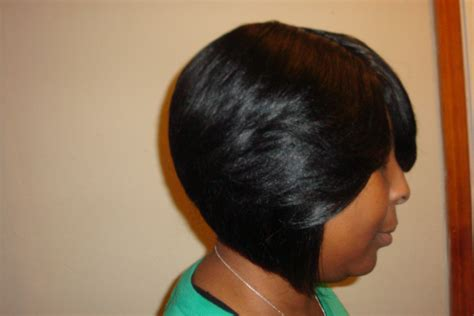 African American Short Hairstyles With Bangs