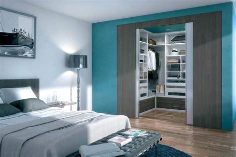 plan chambre a coucher dressing intégré un design personnalisé en accord avec