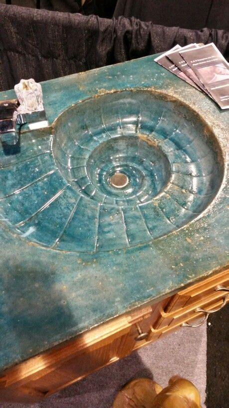 concrete counters images  pinterest concrete counter