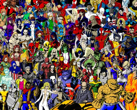 Marvel Super Heroes by thorup on DeviantArt