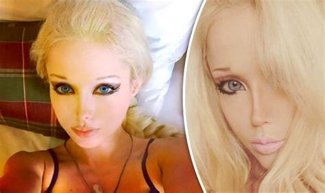 'human Barbie' Valeria Lukyanova Reveals Her Surprising