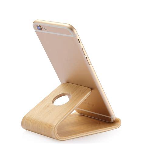 Holder Iring Stand universal bamboo stand phone holder bamboo by panda