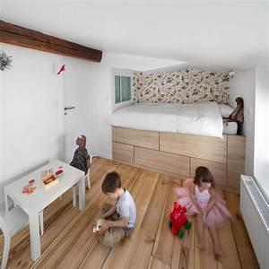 chambres d39enfant sur mesure contemporain chambre d With salon de jardin pour enfants 7 renovation cuisine contemporaine et douce dans maison