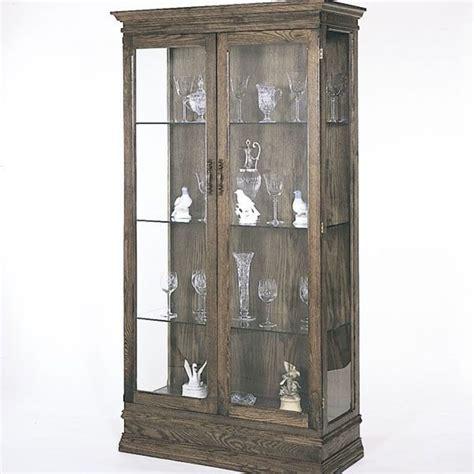 bild woodworking project paper plan  build curio cabinet