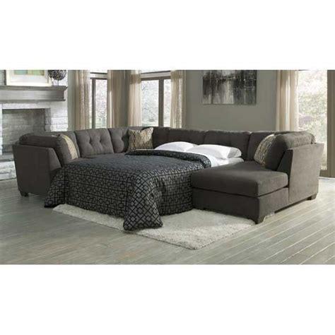 american furniture warehouse sofa sleepers 3pc sleeper raf chaise steel american furniture