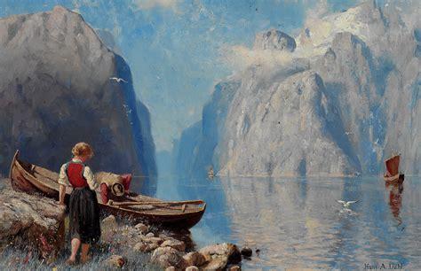 1000 Ideas About Norwegian Painters On Pinterest
