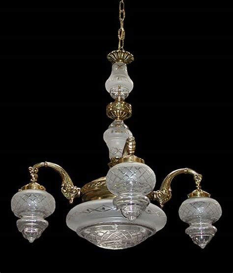 beautiful 19th c bronze and chandelier for sale