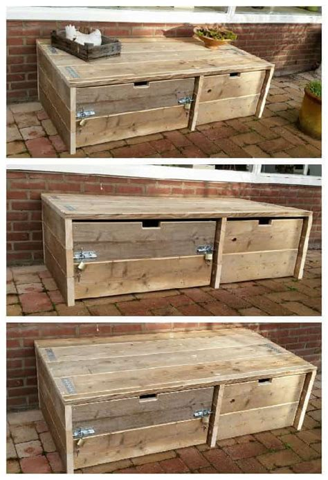 outdoor pallet storage cabinet  pallets