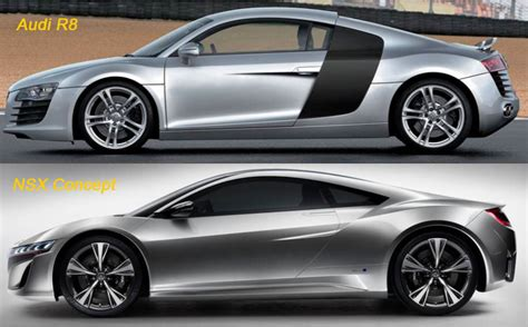Nsx Vs R8 by Audi R8 Vs Nsx Concept Bild 78 74 Kb Honda Forum Tuning