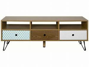 Meuble De Télé Conforama : meuble tv karev vente de meuble tv conforama ~ Teatrodelosmanantiales.com Idées de Décoration