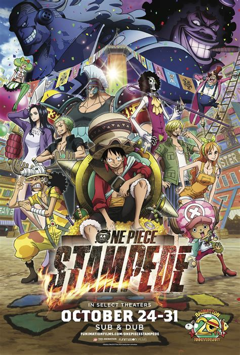 piece stampede luffy   buggy  gold roger
