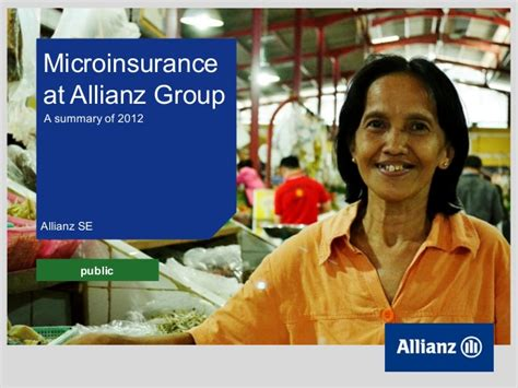 allianz si鑒e allianz se microinsurance business update 2012 fy 1 9 20130402