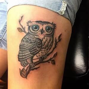 Maison Du Monde Attrape Reve : tatouage hibou 50 id es de tatouages rep r s sur ~ Nature-et-papiers.com Idées de Décoration