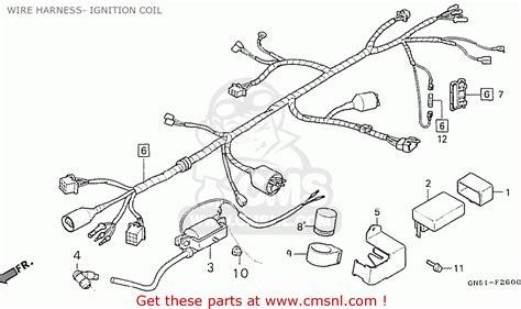 Wiring Diagram Honda Astrea Grand by Honda C100m2 Astrea Indonesia Wire Harness Ignition Coil