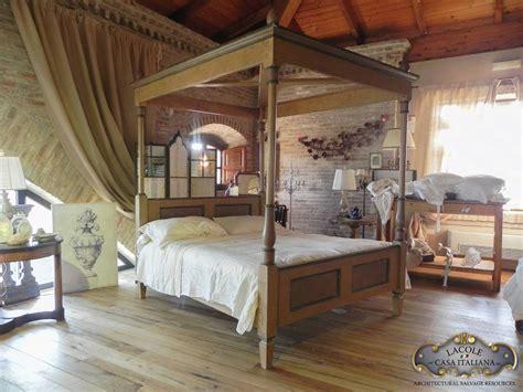 letto baldacchino legno bianco letto a baldacchino in legno lacole casa italiana