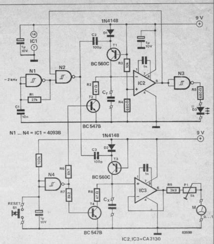 This Simple Yet Accurate Analogue Capacitance Meter